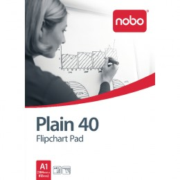 Nobo Flip Pad A1 Plain [Pack of 5]