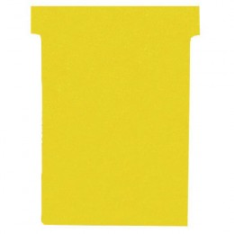 Nobo T-Card Size 2 Yellow [Pack of 100]