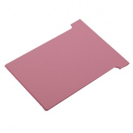 Nobo T-Card Size 2 Pink [Pack of 100]