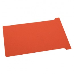 Nobo T-Card Size 2 Red [Pack of 100]