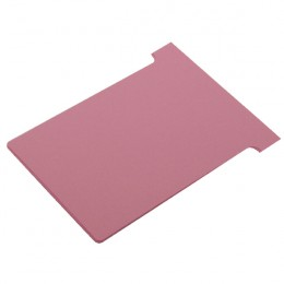 Nobo T-Card Size 3 Pink [Pack of 100]