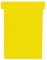 Nobo T-Card Size 4 Yellow [Pack of 100]