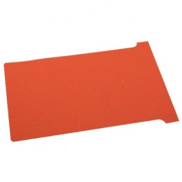 Nobo T-Card Size 4 Red [Pack of 100]