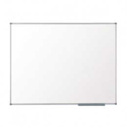 Nobo 1905202 Basic Melamine Non Magnetic Whiteboard with Basic Trim 900x600mm