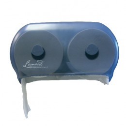 Leonardo Versatwin Toilet Roll Dispenser Blue
