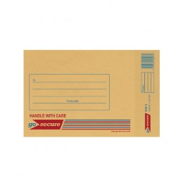 Gosecure Bubble Envelope Size 3 Gold [Pack of 20]