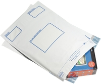 Postsafe Extra Strong Polythene Envelopes C5 White [Pack of 100]