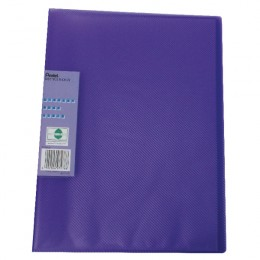 Pentel Recycology Display Book Vivid 30 Pocket Violet [Alternative Picture 1]