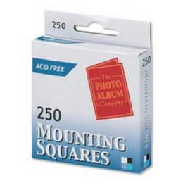 Photo Mounting Squares White [Pack of 250]