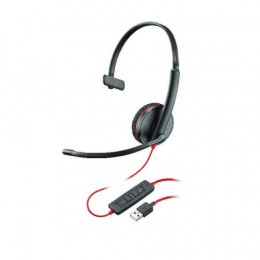 Poly Blackwire C3210 USB-A Monaural Headset