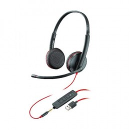 Poly Blackwire C3225 USB-A Stereo Headset NC