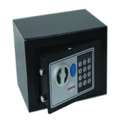 Phoenix Compact Security Safe Electronic Lock Black 230x170x170mm