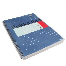 Pukka Easy-Riter Metallic A4 Writing Pad 80g [Pack of 3]