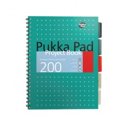Pukka Metallic Project Book B5 [Pack of 3]