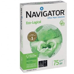 Navigator Eco-Logical Paper 75gm A4 [Pack of 2500 Sheets]