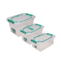 StoreStack Carry Box Set of Multiple Sizes [Pack of 3]