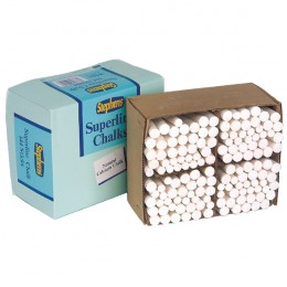 Stephens Chalk White Sticks [Pack of 144]