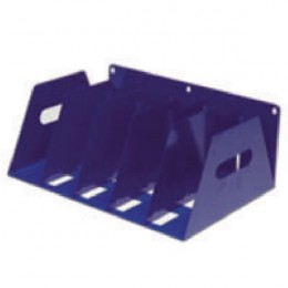 Rotadex Lever Arch Filing Rack for 5 Files Blue