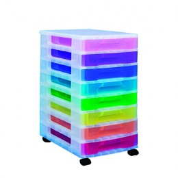 Really Useful Tower 8 Drawer Bright Colours