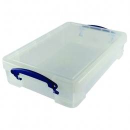 Really Useful 4 Litre Box for A4 Paper Clear