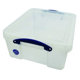 Really Useful Multimedia 18 Litre Storage Box