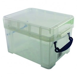 Really Useful 3 Litre Box with Lid Clear