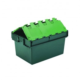 64 Litre Green Container Lid