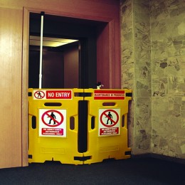 Elevator Guard Yellow [Set of 2]