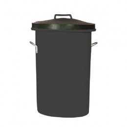Bin with Lid and Handles 3.5 Cubic Feet Black
