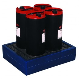 4x25 Litre Can Tray Blue