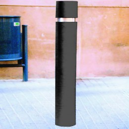 Slim Bollard 1000x95mm Black
