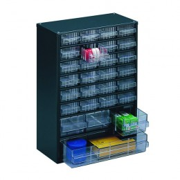 28 Clear Drawer Storage System