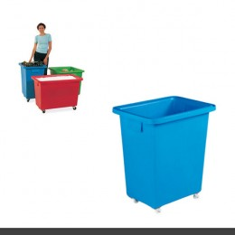 Mobile Container 580x410x700mm Blue