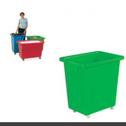 Mobile Container 625x570x570mm Green