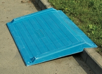 Blue Kerb Ramp Kerb for Kerbs Height 75-150mm