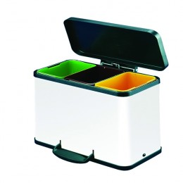 11 Litre Recycling Pedal Bin [Pack of 3]