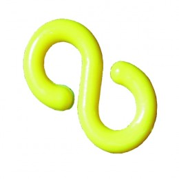6mm Chain S-Hook Yellow [Pack of 10]