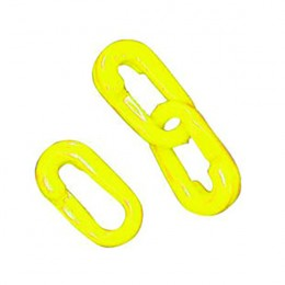 8mm Chain Joint Yellow [Pack of 10]