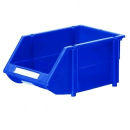 Blue Contract Bins 150x256x121mm [Pack of 36]