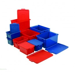 Jumbo Red Plastic Container