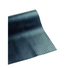Ribbed 3mm Matting 1200mmx10m Black