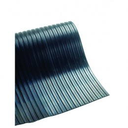 Ribbed 5mm Matting 1200mmx10m Black