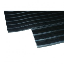 Ribbed Matt 1200mm Black