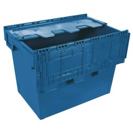 75 Litre Eurobox with Lid Blue