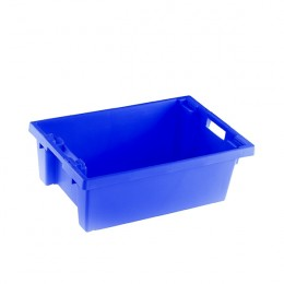 Stacking Box 600x400x200mm Blue
