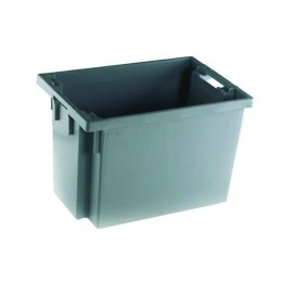 Stacking Box 600x400x400mm Grey