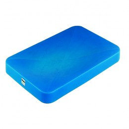 Plastic Lid for Mobile Tapered Container Truck Blue