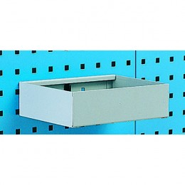 Metal Tray Shelf Plain 450mm
