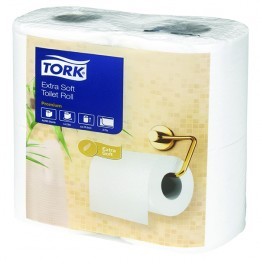 Tork Extra Soft Toilet Roll White 200 Sheet 2-Ply [Pack of 40]