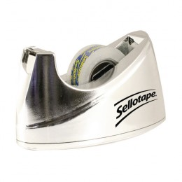 Sellotape Bench Dispenser Chrome Small [Alternative Picture 1]